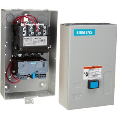 Siemens 14BUC32BC Heavy Duty Motor Starter, Solid State Overload, Auto/Manual