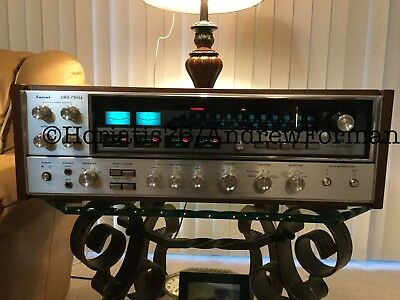 Sansui Qrx-7500A Stereo 2/4 Channel Receiver, Just About Mint, Watch Video!