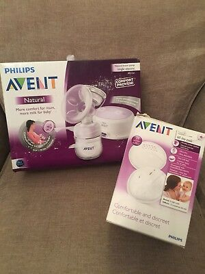 Philips Avent Natural Single Electric Breast Pump Brand New