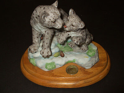 Lynn Chase Snow Leopards Ltd. Ed. Wild and Wonderful Collection 467/9500