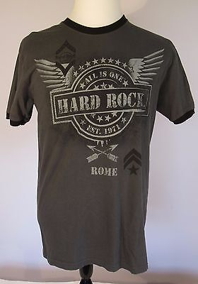 Hard Rock Rome T-Shirt Large