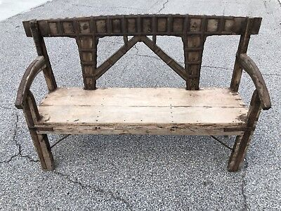 Irish Pub Bench From Guinness Prize Pub (2 of 2 Available)