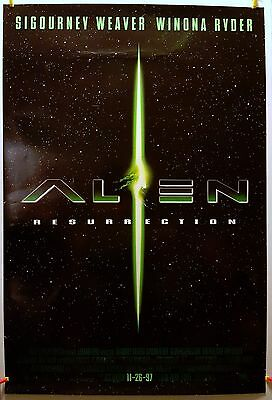 Alien Resurrection 1997 Original Movie Poster 27x40 Rolled, Double-Sided, Glossy