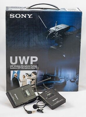 Sony UWP-V1 Wireless Lavalier Microphone Package (42/44 - 638 to 662MHz)