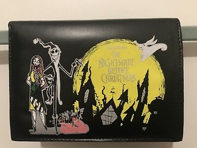 Nightmare Before Christmas Jack Skellington Sally Zero Purse Wallet