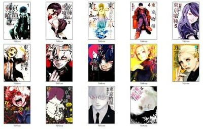 Tokyo Ghoul, Vol. 1 to 14 by Sui Ishida (Paperback, 2015)