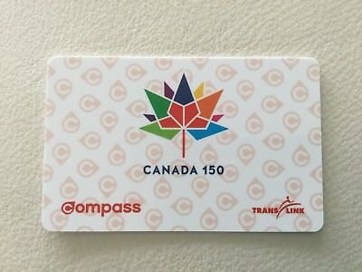 Canada 150 Commemorative Compass Card Limited Edition Vancouver