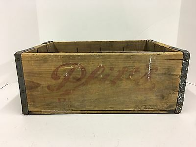 Rare C.F. Plitt's & Son York PA Wood Wooden Crate Quality Beverages Bottle Soda