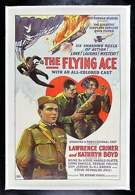 FLYING ACE ✯ CineMasterpieces 1926 MOVIE POSTER PLANE AVIATION AVIATOR FLY PILOT