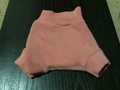 Pink/ coral Bumpy wool cover, size small