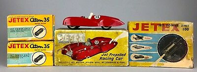 VINTAGE -JETEX- JET Propelled Racing Car, Power Unit 100