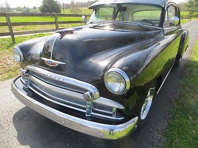 1950 Chevrolet Business Coupe  50 CHEVY COUPE CLASSIC HOTROD STREETROD 51 52 V8 AUTO LASER STRAIGHT BODY CHROME