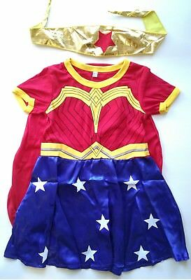 Wonder Woman Costume for children Dress up Cosplay 3-8yrs