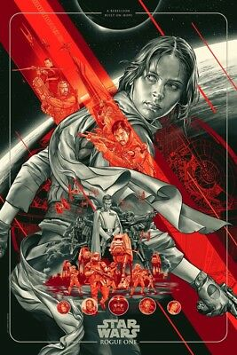 Martin Ansin Rogue One MONDO Timed Exclusive Poster SOLD OUT