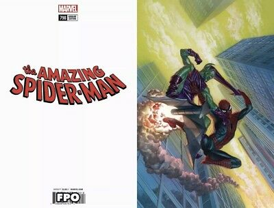 Amazing Spiderman #798 1:100 Virgin Ross Variant 1st Red Goblin Presale 4/4/18