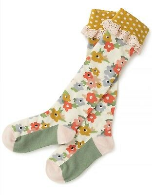 Matilda Jane Camp MJC Collection Fancy Frolic Socks Small BRAND NEW