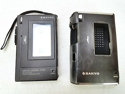Sanyo Executive Talk-Book TRC-2500 Cassette Player Recorder Parts or Repairs