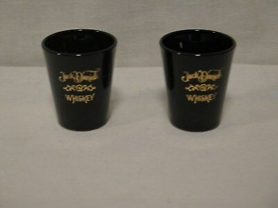 2 Jack Daniel's Whiskey Shot Glasses