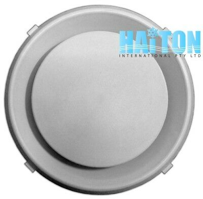 "4"" 100mm ROUND DIFFUSER/PLASTIC AIR VENTS Model: RD 100"