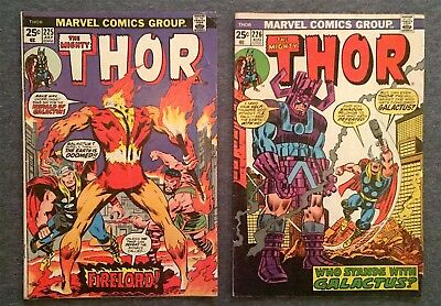 Thor #225 + 226  Comic Lot. Free Shipping on Additional Wins!!!