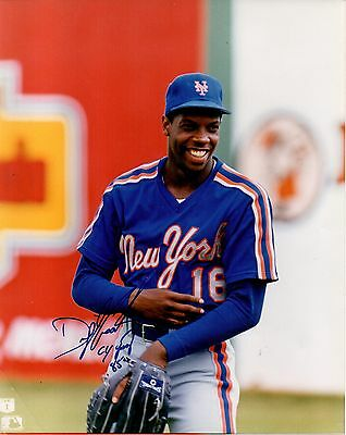 """Doc"" Dwight Gooden New York Mets #16 Signed 8 x10 Color Photo - Dr. K Cy Young"