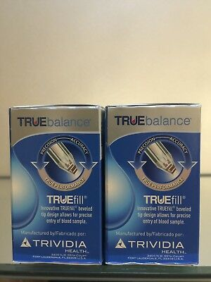TRUE BALANCE Blood Glucose 100 Test Strips EXP 05/2020, Diabetic, FREE Shipping