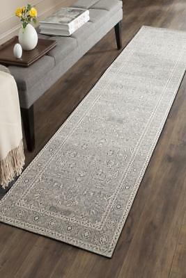 Hallway Runner Hall Runner Rug Modern Grey Cream 4 Metres Long Premium Edith 261
