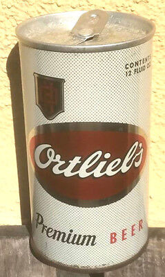 1962 Zip Top Ortlieb's TOUGH Beer Can, Philadelphia, PA