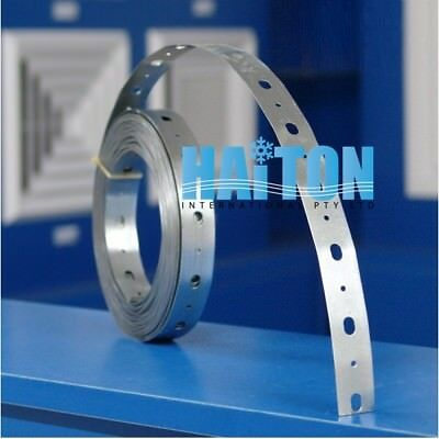 GALVANIZED STEEL PERFORATED Strap 23mm x 15m Model: PS2315
