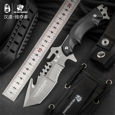 HX OUTDOORS Army Survival Knife Outdoor Tool High Hardness Small Straight Knives