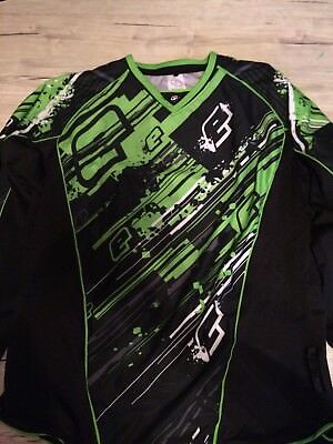 Planet Eclipse Trikot Jersey Shirt Rain Lime gr XL