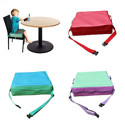 3-Styles Children Chair Seat Pad Chair Booster Cushion Child Highchair Cover UK