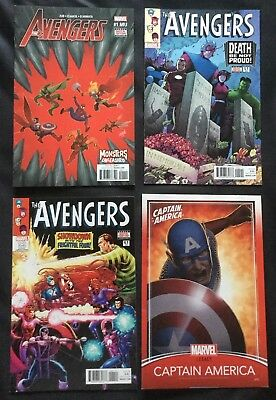 4 Marvel Comics Grab Bag - Lot 413 (The Avengers / Captain America)