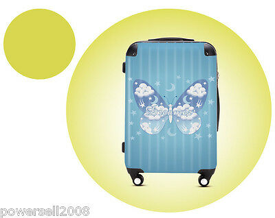 "#7 28"" New Cartoon Butterfly Universal Wheel ABS+PC Suitcase Pull Rod Box LLX"