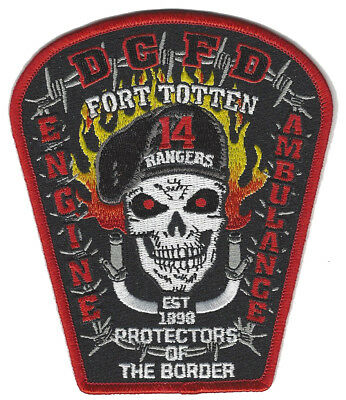 Dcfd Engine 14 Fort Totten New March 2018 Fire Patch