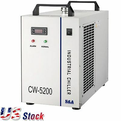 USA - CW-5200DH Water Chiller AC 110V 60Hz Industrial Water Chiller