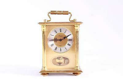 Fantastic Vintage Heavy BRASS Hand-Wind Carriage Clock SPARES&REPAIRS