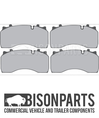+Fits Daf Lf55 12-18T 2001-2013 Fits Front Or Rear Axle Brake Pad Set Bp106-090