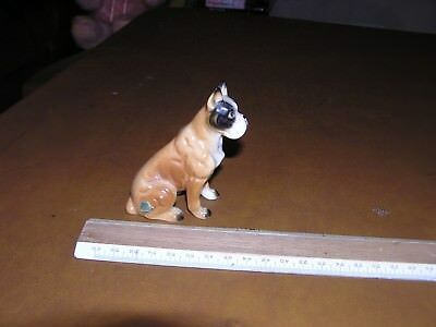 VINTAGE Porcelain BONE CHINA JAPAN BOXER  FIGURINE 3 3/8""