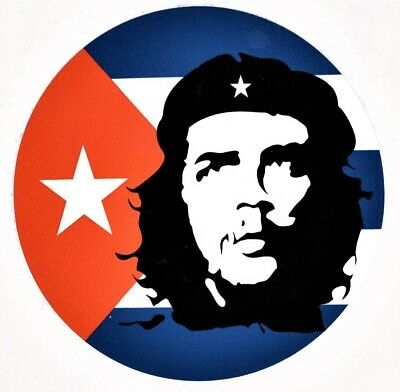 Sticker Car Laptop Ernesto Che Guevara Cuban comandante vinyl New Diameter 3.94i