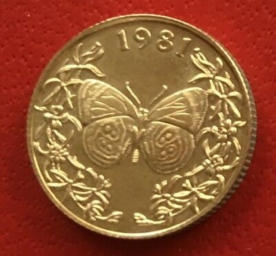 1981 Panama 20 Balboas Gold Proof (Butterfly) Franklin Mint - FREE SHIPPING
