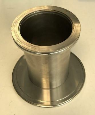 ISO160 to IS0100 Tubulated Adapter Reducer Stainless Steel Vacuum Fitting