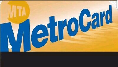 New 30 DAY NYC MTA Unlimited monthly Metro card (122.00 Value) Free Shipping