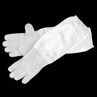 Beekeeping Gloves Sheepskin Breathable Material Bee Tools Universal Canvas