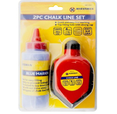 SILVERLINE BUILDING BLUE MARKING CHALK LINE POWDER