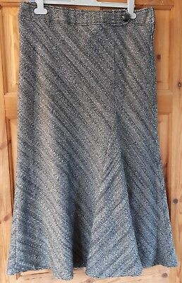Marks & Spencers Autograph Lined Wool Skirt UK Size 16 Work Office Smart VGC (5)