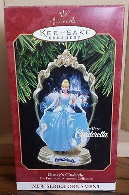 Hallmark Disney's Cinderella Ornament Dated 1997 NIB MIB NRFB