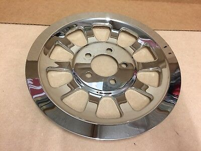 Genuine Harley-Davidson Chrome Belt Sprocket Cover Kit Softail 37757-07