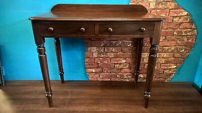 victorian mahogany antique, side table, console table,hall table.