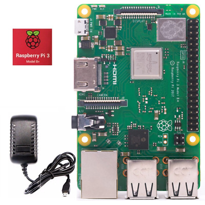 Raspberry PI 3 Model B+ Plus 2018 1.4GHz Cortex-A53 with 1GB RAM Starter Kit